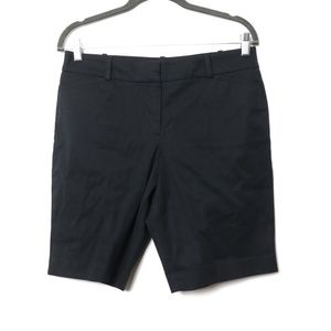 Talbots | NEW Black Bermuda Shorts 8 Petite